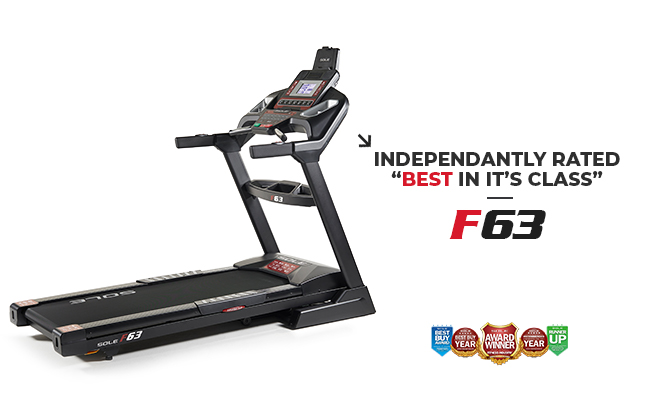 Sole Fitness F63 Treadmill Foldable Home Use Smart Treadmill Product Image Banner