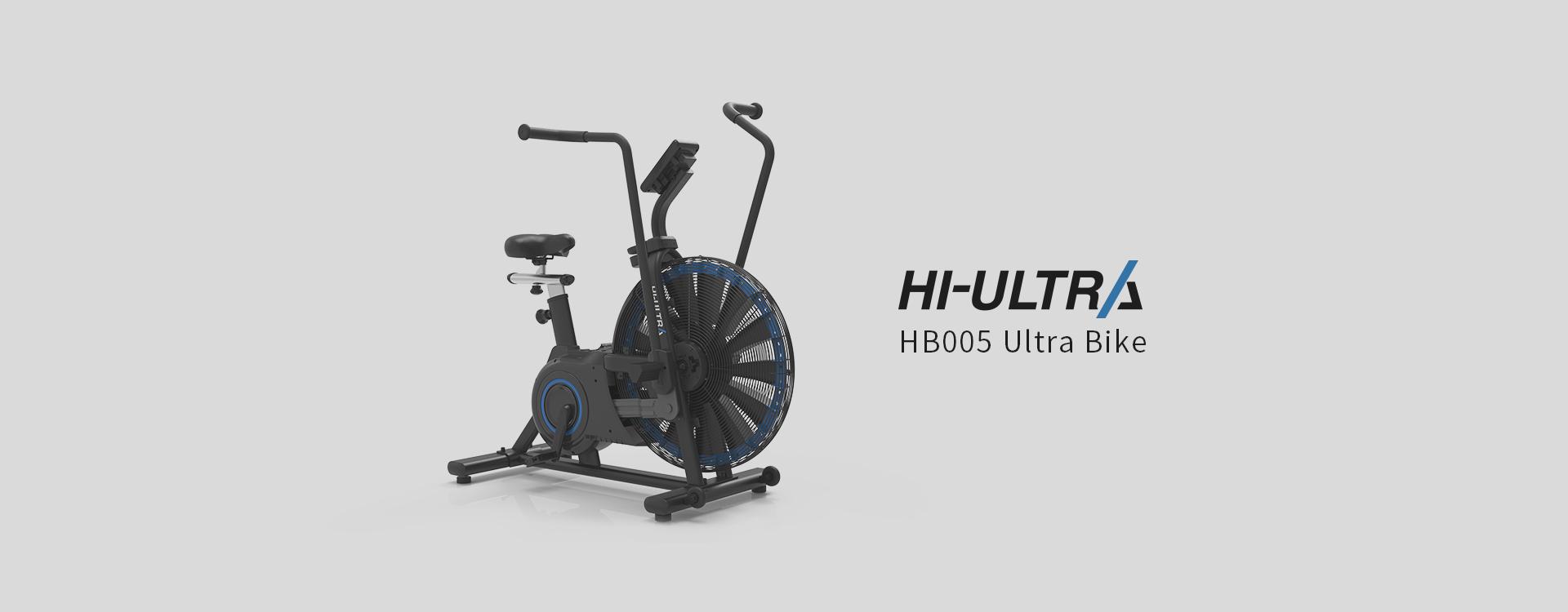 Impulse Fitness HB005 Air Bike HI-ULTRA Banner